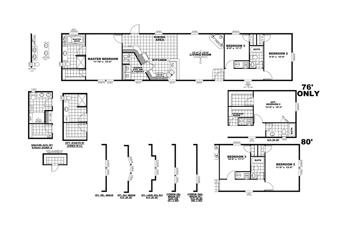 The SMART BUY 16763D Floor Plan