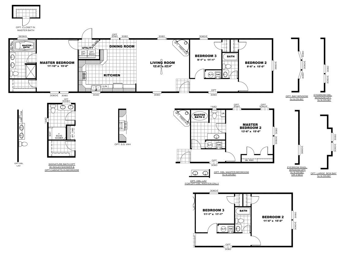The SMART BUY 16763H Floor Plan