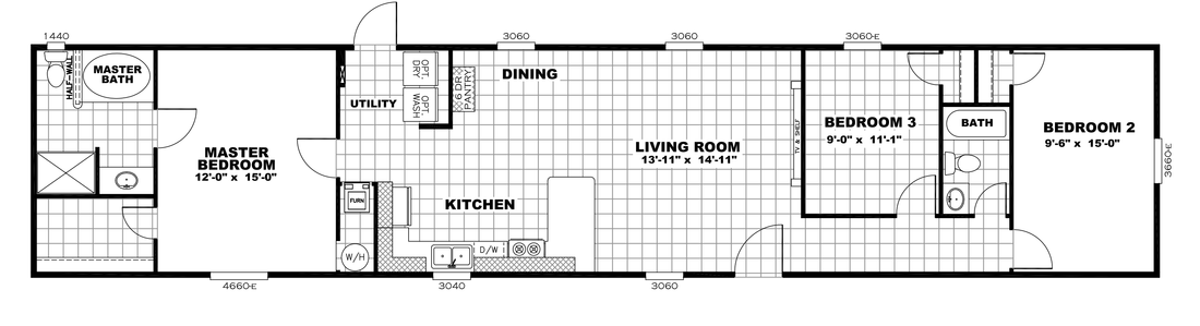 The INDEPENDENT 16763I Floor Plan