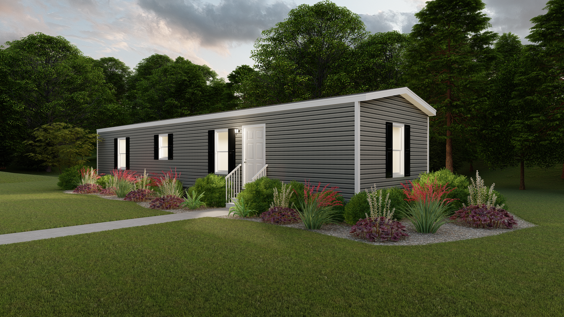 The INDEPENDENT 16562B Exterior. This Manufactured Mobile Home features 2 bedrooms and 2 baths.