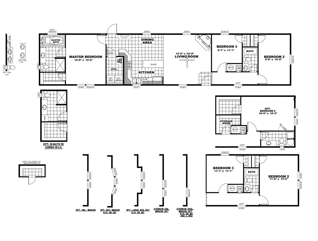 The SMART BUY 16763B Floor Plan
